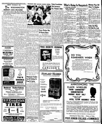 Naugatuck Daily News from Naugatuck, Connecticut on October 17, 1949 · Page 2