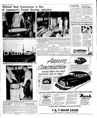 Logansport Pharos-Tribune from Logansport, Indiana on October 4, 1949 · Page 6