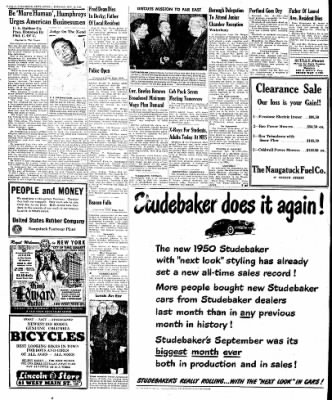 Naugatuck Daily News from Naugatuck, Connecticut on October 18, 1949 · Page 8