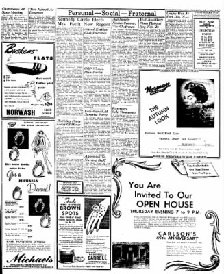 Naugatuck Daily News from Naugatuck, Connecticut on October 19, 1949 · Page 3