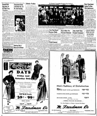 Naugatuck Daily News from Naugatuck, Connecticut on October 20, 1949 · Page 8