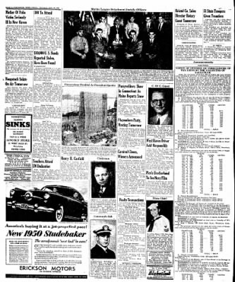 Naugatuck Daily News from Naugatuck, Connecticut on October 25, 1949 · Page 4