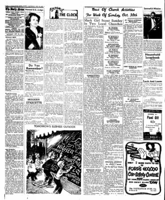 Naugatuck Daily News from Naugatuck, Connecticut on October 29, 1949 · Page 4