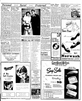 Naugatuck Daily News from Naugatuck, Connecticut on November 2, 1949 · Page 3