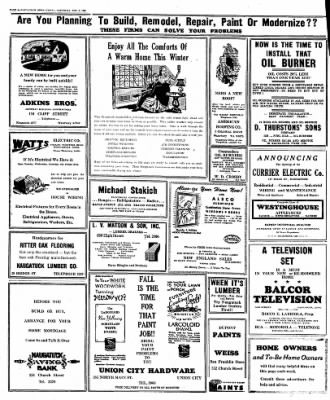 Naugatuck Daily News from Naugatuck, Connecticut on November 5, 1949 · Page 6