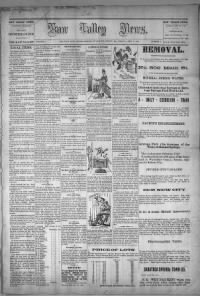 Sample Kaw Valley News front page