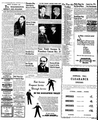 Naugatuck Daily News from Naugatuck, Connecticut on November 9, 1949 · Page 2