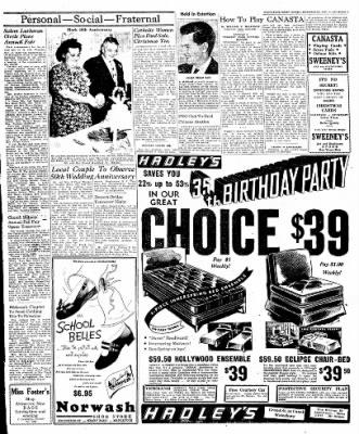 Naugatuck Daily News from Naugatuck, Connecticut on November 9, 1949 · Page 3