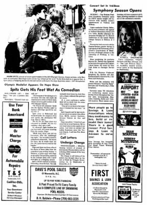 Statesville Record And Landmark from Statesville, North Carolina on September 30, 1972 · Page 21