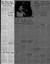 Los Angeles Times coverage of the Zoot Suit Riots in June 1943