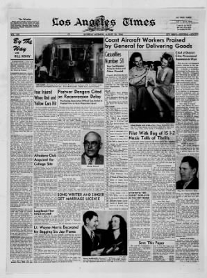 The Los Angeles Times from Los Angeles, California on August 26, 1944 · 9