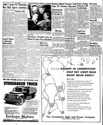 Naugatuck Daily News from Naugatuck, Connecticut on November 15, 1949 · Page 8