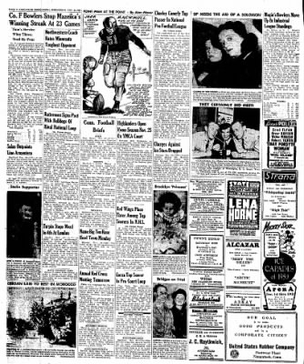 Naugatuck Daily News from Naugatuck, Connecticut on November 16, 1949 · Page 4