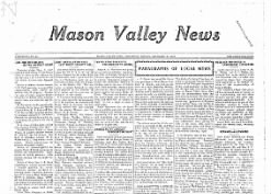 Mason Valley News