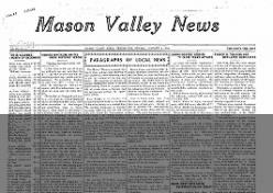 Mason Valley News