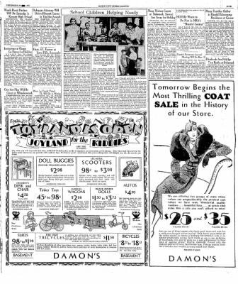 The Mason City Globe-Gazette from Mason City, Iowa on November 30, 1933 · Page 5