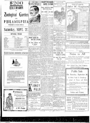 The Gettysburg Times from Gettysburg, Pennsylvania on September 13, 1913 · Page 3