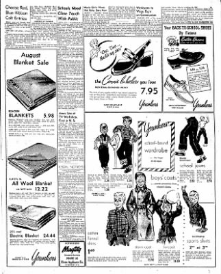 The Mason City Globe-Gazette from Mason City, Iowa on August 14, 1952 · Page 9