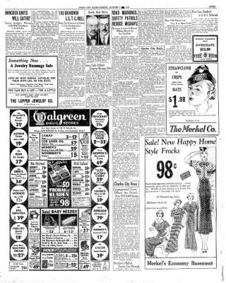 The Mason City Globe-Gazette from Mason City, Iowa on January 9, 1936 · Page 7