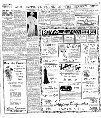 Globe-Gazette from Mason City, Iowa on December 5, 1933 · Page 3
