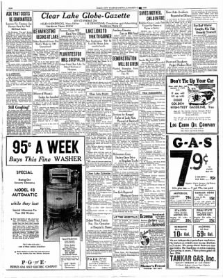 Globe-Gazette from Mason City, Iowa on January 9, 1936 · Page 10
