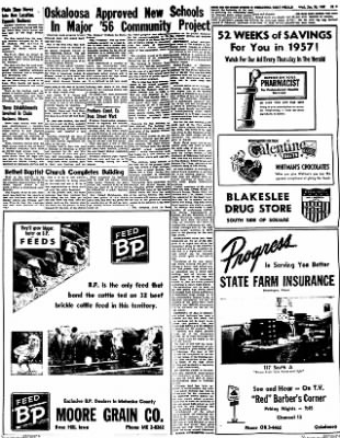 Oskaloosa Daily Herald from Oskaloosa, Iowa on January 30, 1957 · Page 25