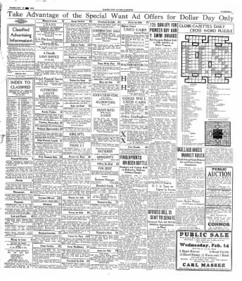 The Mason City Globe-Gazette from Mason City, Iowa on February 12, 1934 · Page 19