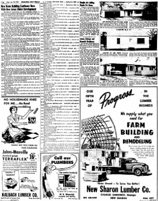 Oskaloosa Daily Herald from Oskaloosa, Iowa on January 30, 1957 · Page 46