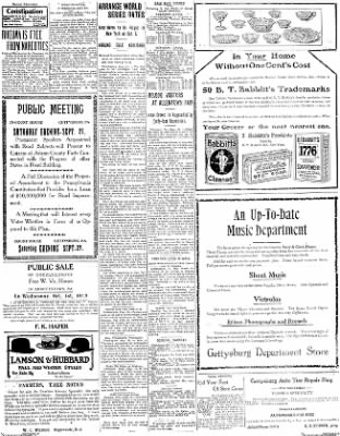 The Gettysburg Times from Gettysburg, Pennsylvania on September 26, 1913 · Page 3