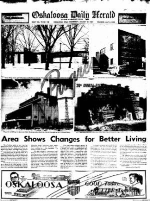 Oskaloosa Daily Herald from Oskaloosa, Iowa on January 30, 1957 · Page 63