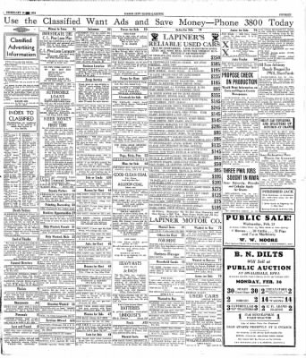 Globe-Gazette from Mason City, Iowa on February 19, 1934 · Page 15