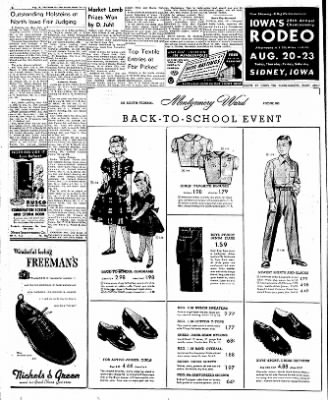 Globe-Gazette from Mason City, Iowa on August 20, 1952 · Page 6