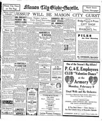 The Mason City Globe-Gazette from Mason City, Iowa on February 7, 1931 · Page 10