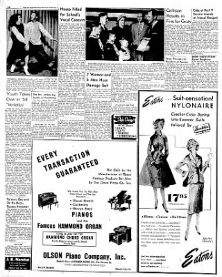 Globe-Gazette from Mason City, Iowa on February 24, 1954 · Page 13