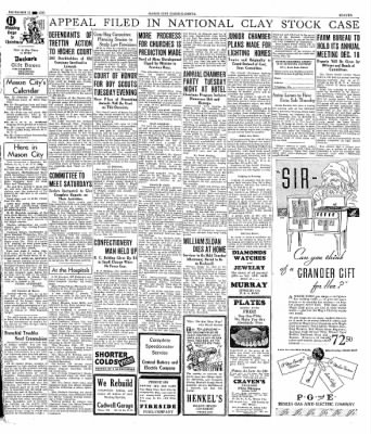 The Mason City Globe-Gazette from Mason City, Iowa on December 11, 1933 · Page 11