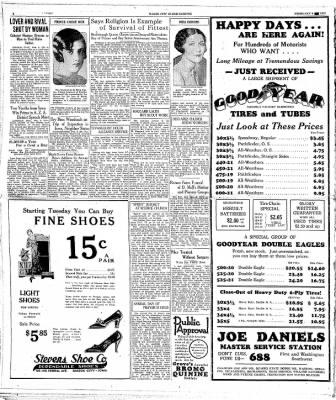 The Mason City Globe-Gazette from Mason City, Iowa on February 9, 1931 · Page 2