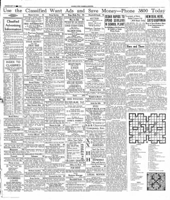 The Mason City Globe-Gazette from Mason City, Iowa on February 22, 1934 · Page 21