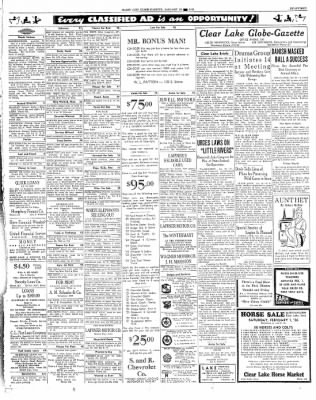 The Mason City Globe-Gazette from Mason City, Iowa on January 30, 1936 · Page 17