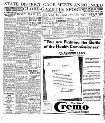 The Mason City Globe-Gazette from Mason City, Iowa on February 9, 1931 · Page 14