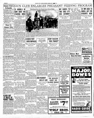 Globe-Gazette from Mason City, Iowa on February 6, 1936 · Page 12