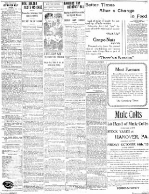 The Gettysburg Times from Gettysburg, Pennsylvania on October 9, 1913 · Page 3
