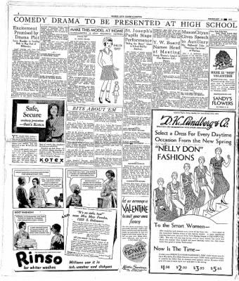 The Mason City Globe-Gazette from Mason City, Iowa on February 10, 1931 · Page 6