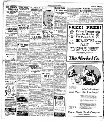 Globe-Gazette from Mason City, Iowa on February 10, 1931 · Page 8