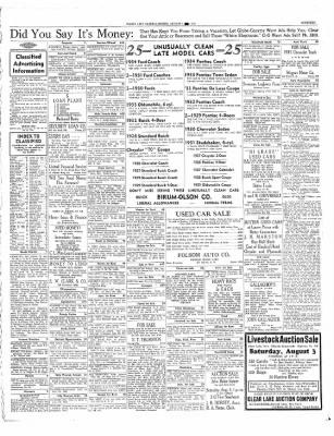 The Mason City Globe-Gazette from Mason City, Iowa on August 1, 1935 · Page 19