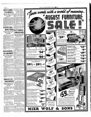 Globe-Gazette from Mason City, Iowa on August 1, 1935 · Page 20