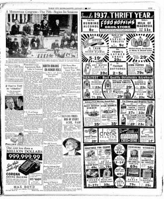 The Mason City Globe-Gazette from Mason City, Iowa on January 7, 1937 · Page 5