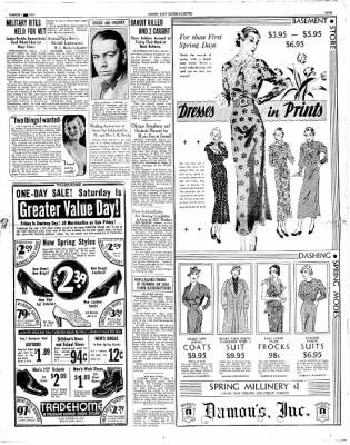 Globe-Gazette from Mason City, Iowa on March 1, 1934 · Page 5