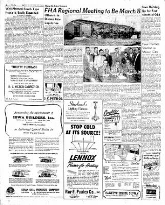 The Mason City Globe-Gazette from Mason City, Iowa on February 27, 1954 · Page 4