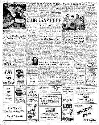 The Mason City Globe-Gazette from Mason City, Iowa on February 27, 1954 · Page 8