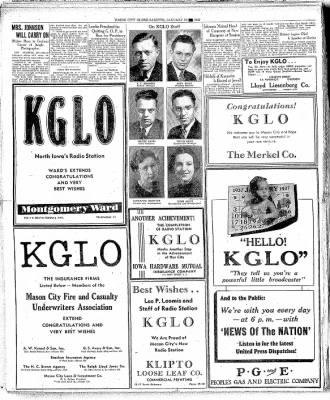 Globe-Gazette from Mason City, Iowa on January 16, 1937 · Page 20